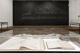Vistas de la exposición On Glaciers and Avalanches, CRAC Alsace. Fotos A. Mole. Cortesía Irene Kopelman y Labor, Ciudad de México.