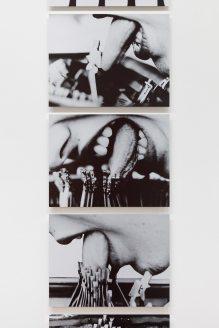 Lenora de Barros, Poema, 1979 © Fabiana and Lenora de Barros, Foto/photo: Axel Schneider