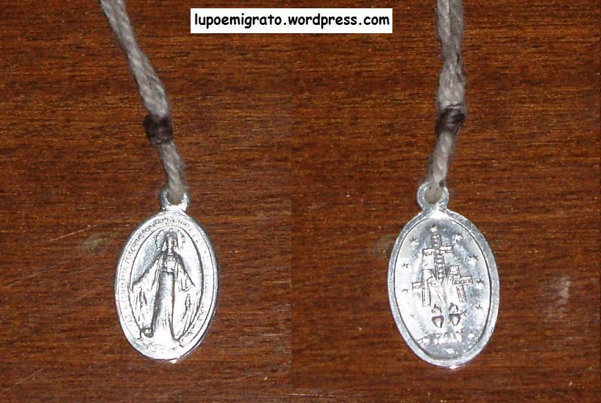 medaglia miracolosa lupoemigrato