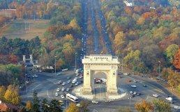Bucharest-Arch of triumph