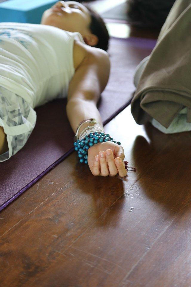 shavasana, yoga and lupus