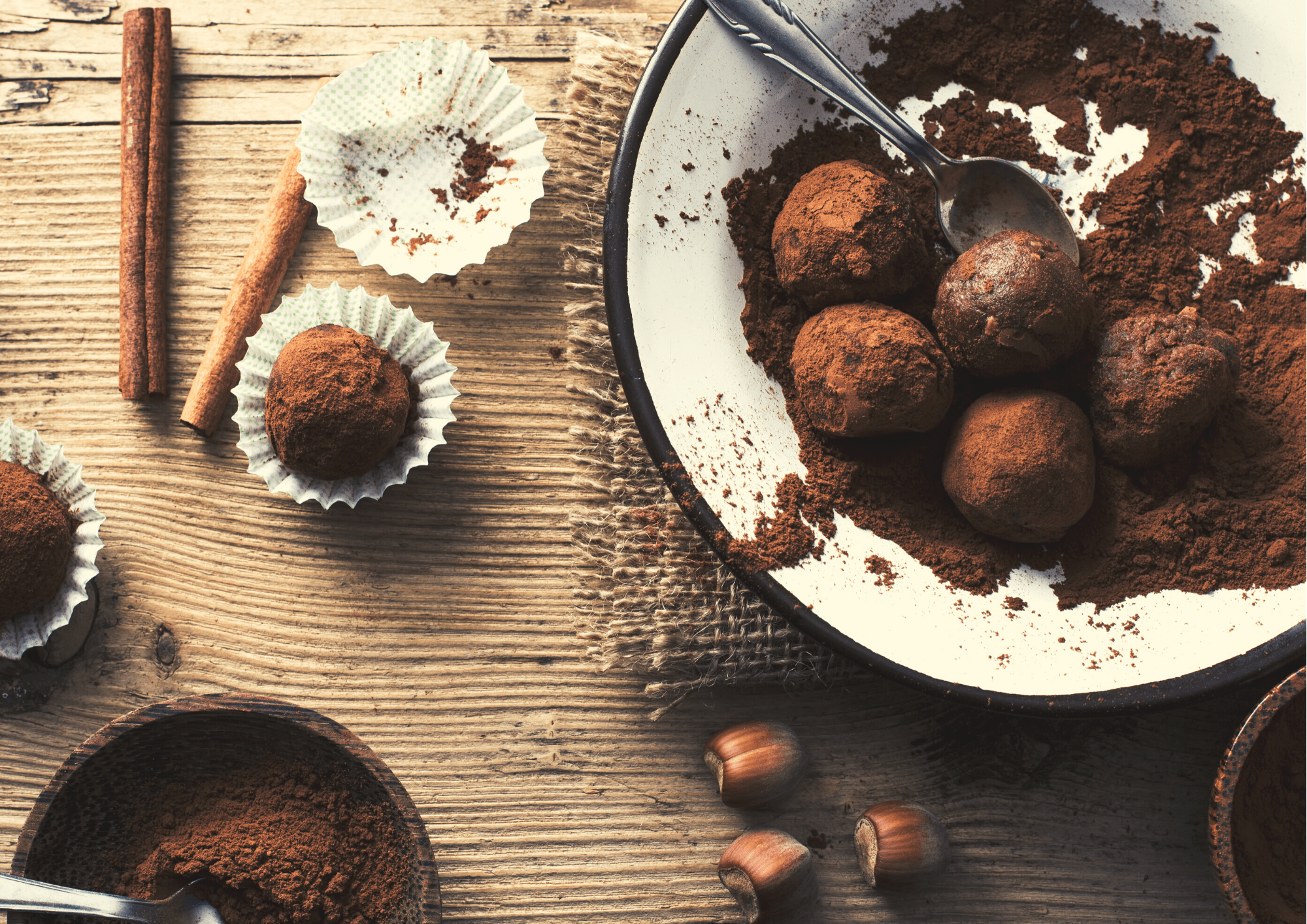 10 minutes chocolate truffles for Mother´s Day recipe