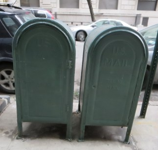 Title: Mailboxes. Caption: This photo symbolizes two people with lupus standing by each other. It is important to not be alone in your experience with lupus. Photographer: Steve Edelstein
