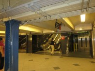 Title: Options at 57th St. and 5th Ave. Caption: When I have difficulty taking the stairs, I can take the escalator or elevator. Photographer: Elaine