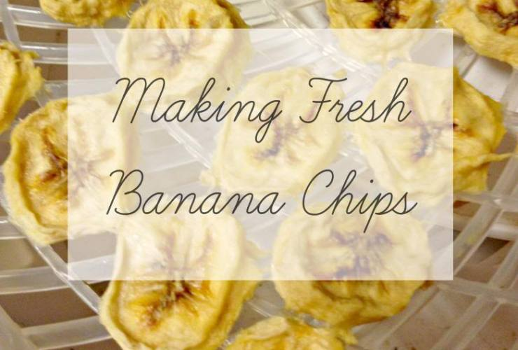 How to Make Fresh Banana Chips