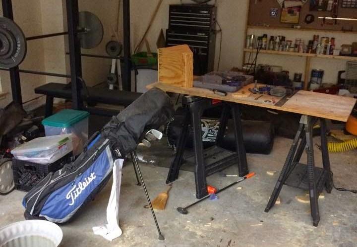 Garage Progress
