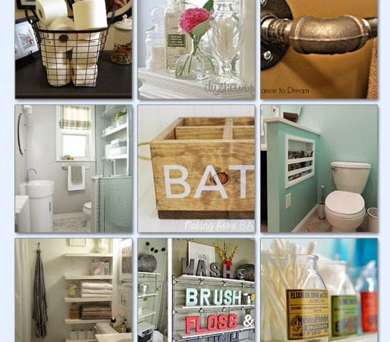 21 Brilliant Bathroom Storage Ideas