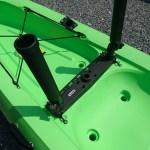 トライブ11.5にScottyのトリプルロッドホルダーを装着!カヤック艤装