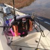 トライブ9.5の艤装インプレ 萩尾溜池カヤックバスフィッシング