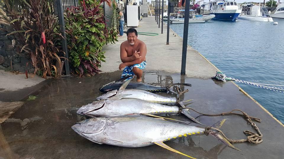 Kona fishing tuna record on the way?
