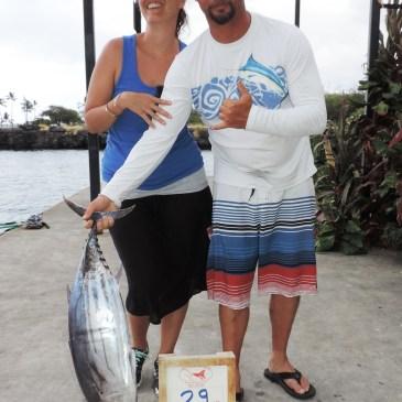 Otaru, Blue Marlin, `Ahi, Bigeye Trevally, Broadbill Swordfish.