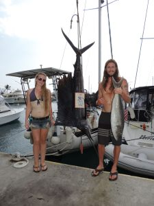 Devin's big uku and sailfish