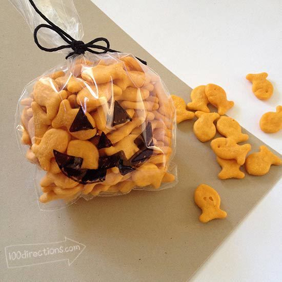 Fall party treats for the classroom - cute idea!