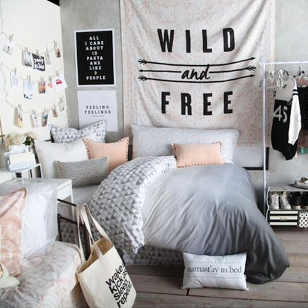 Teen Bedroom Makeover Ideas | Lures And Lace on Teen Room Decoration  id=89314