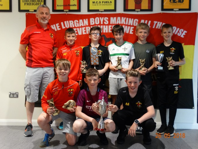 team of the year - under 12 nl