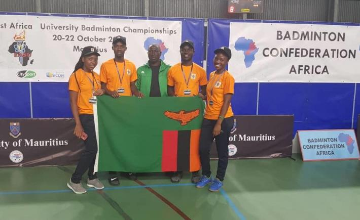 UNZA BADMINTON TEAM SCOOPS BRONZE