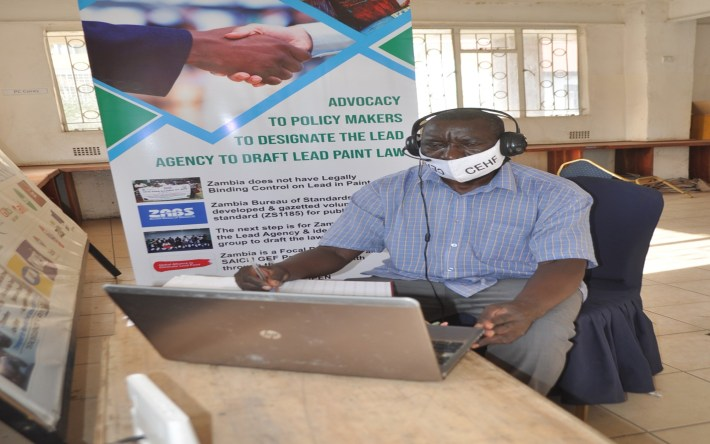 CEHF Convenes virtually with Provincial Development Coordinating Committee for Southern Province