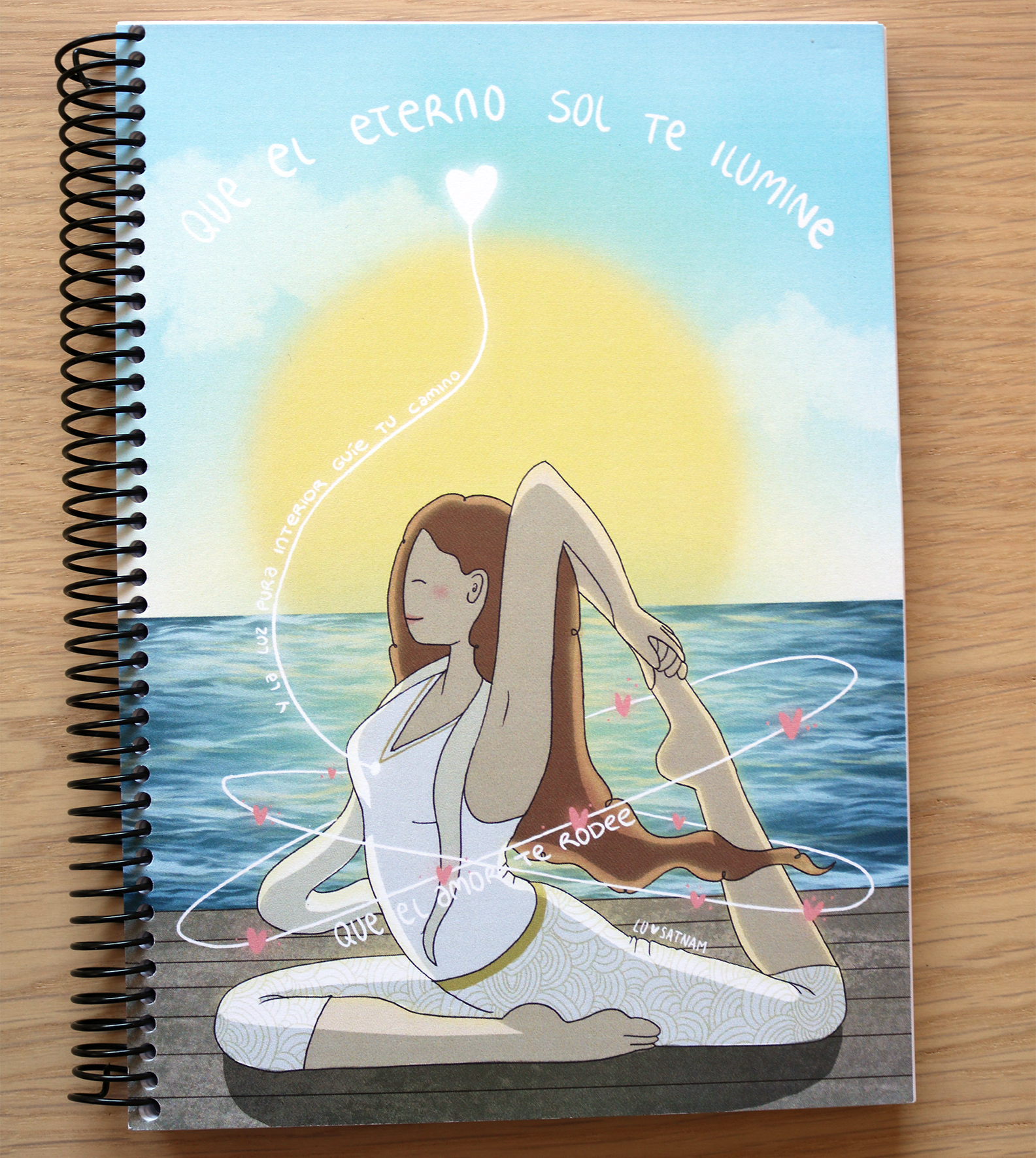 Libreta «el eterno sol»
