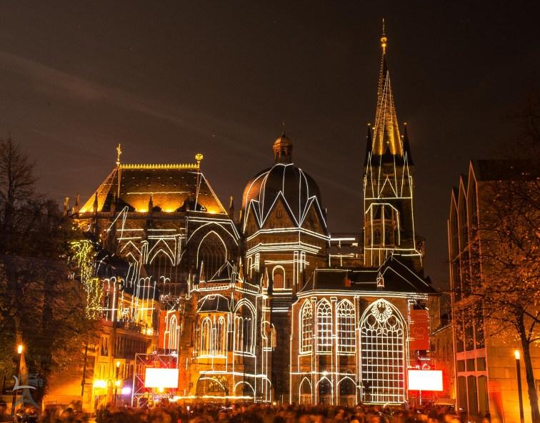 Dom im Licht 2017 - Aachen