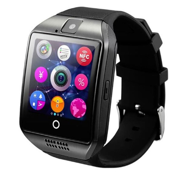 Wearable Devices Q18 Passometer Smart watch with Touch Screen camera TF card Bluetooth smartwatch for Android 2 | Online In Pakistan
