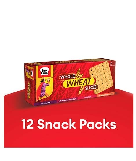 peek freans whole wheat slices classic snack pack of 12