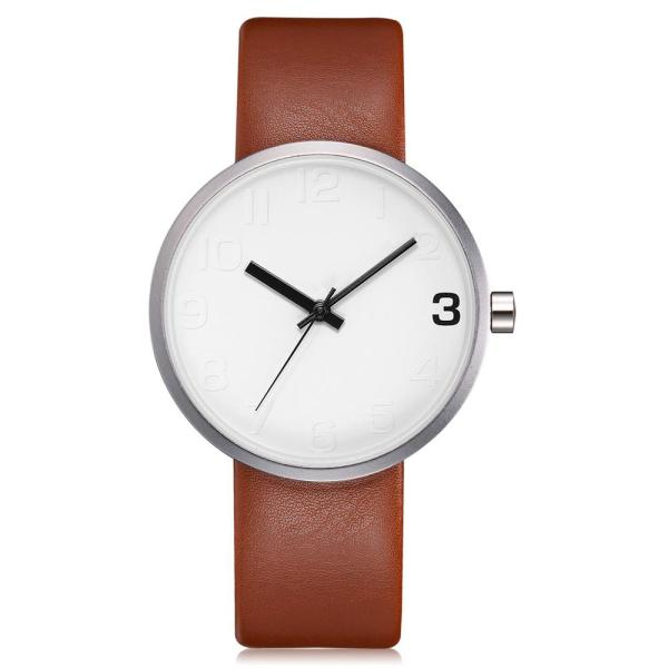 TOMI Fashion Casual Men s Rounded Bussines Retro Design Leather Band Watch Relogio Masculino Erkek 109 | Online In Pakistan