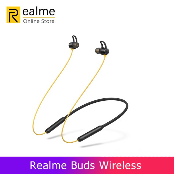 OPPO Realme Buds Wireless Bluetooth 5.0 Headset 12 Hours Battery Life Magnetic C | Online In Pakistan