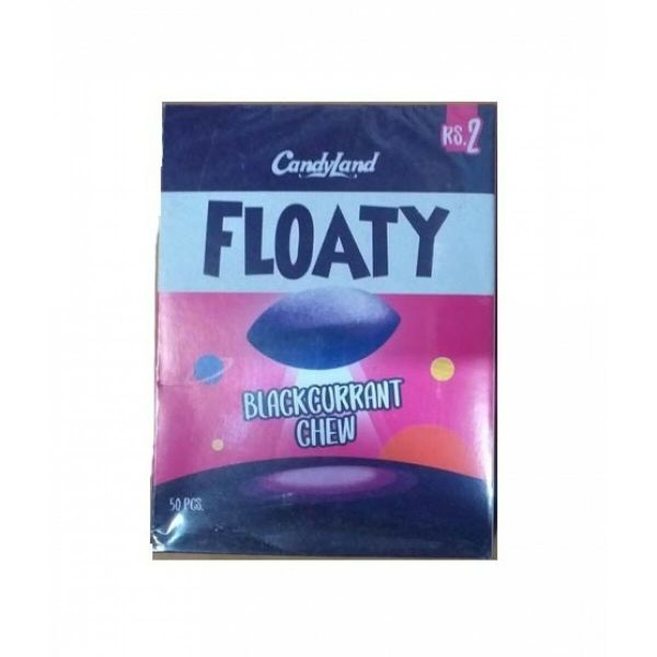 candyland floaty black currant chew pack of 50pcs | Online In Pakistan