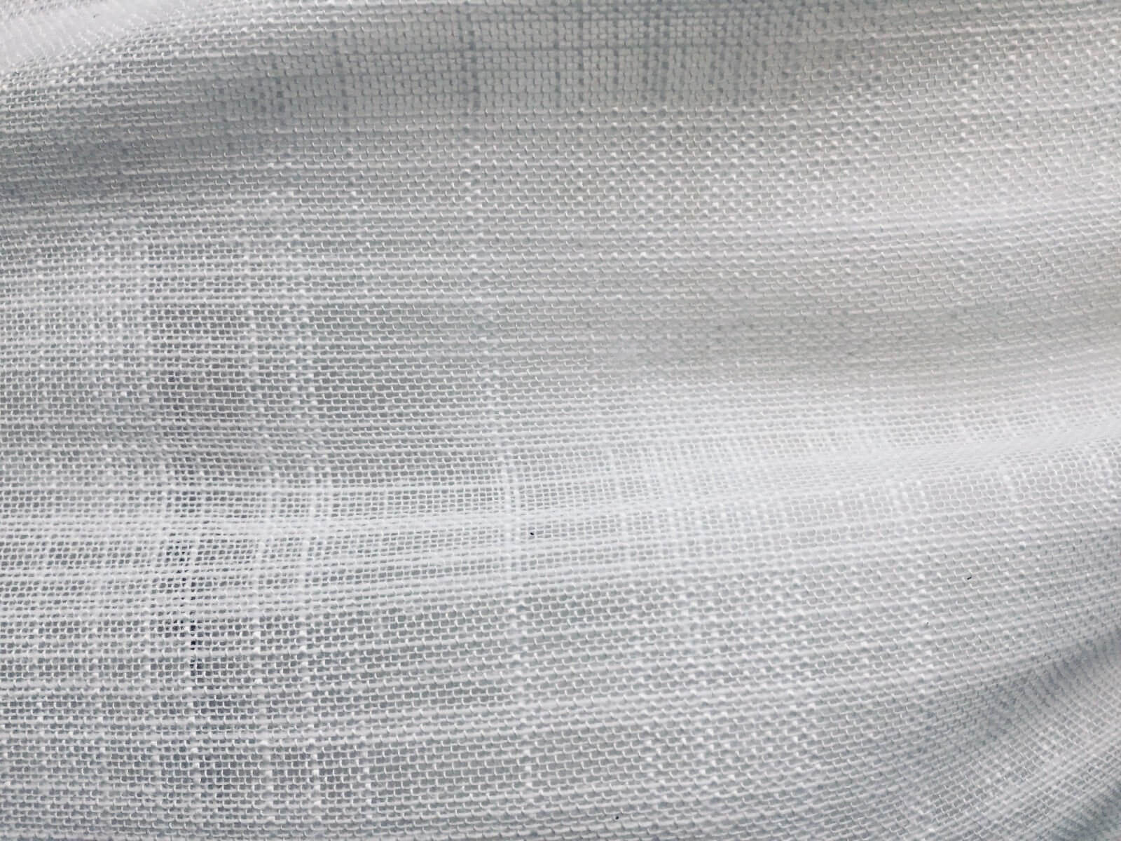 white in between voile tulle organza fabric sheer curtain net 300cm extra wide