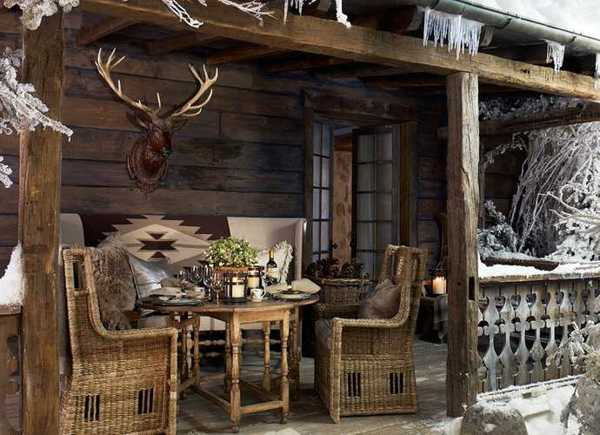 Alpine Country Home Decor Ideas, Rustic Elegance From