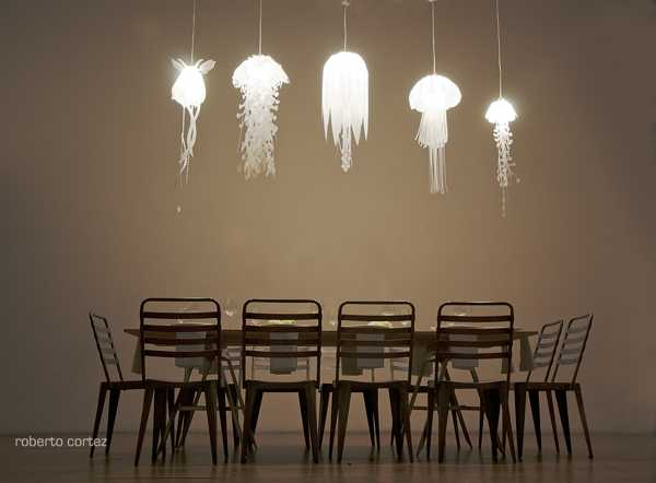 Unique Lighting Fixtures Inspired By JellyFish From Roxy