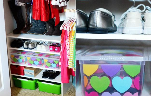 15 Super Storage Ideas And Kids Shoe Organizers For