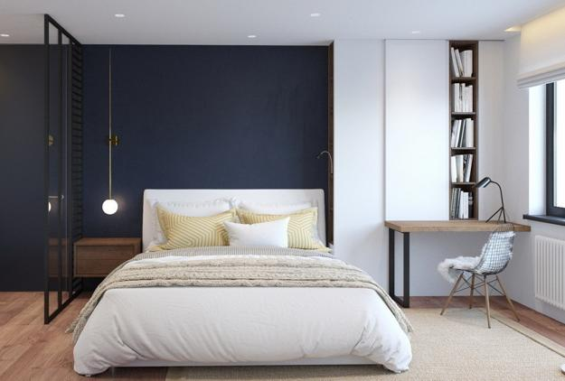Latest Trends In Decorating Bedrooms Saying Yes To Empty Walls