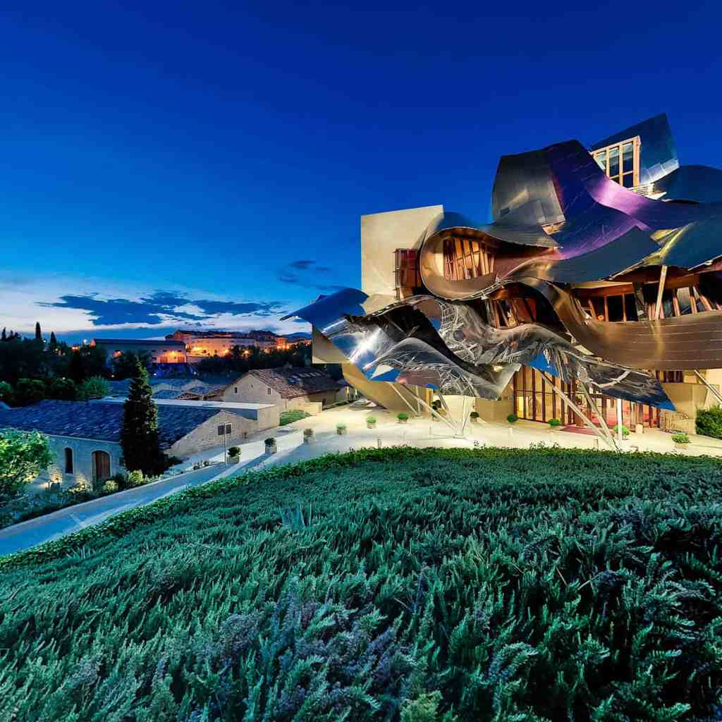 Marques de Riscal, Spain | wineries with a view