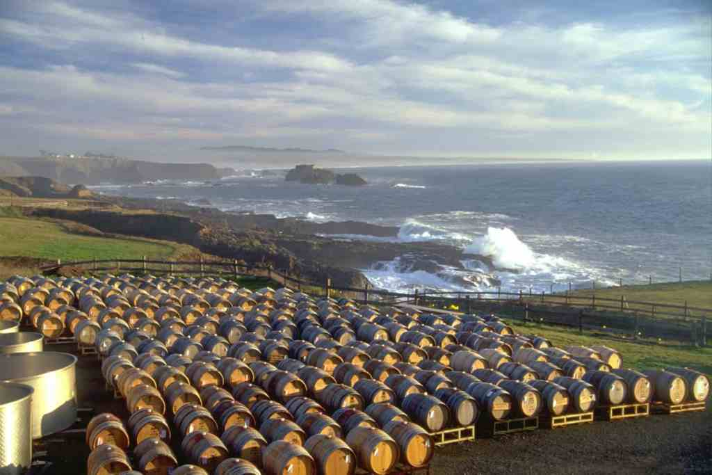 Pacific Star Winery, Mendocino, CA | wineries with a view
