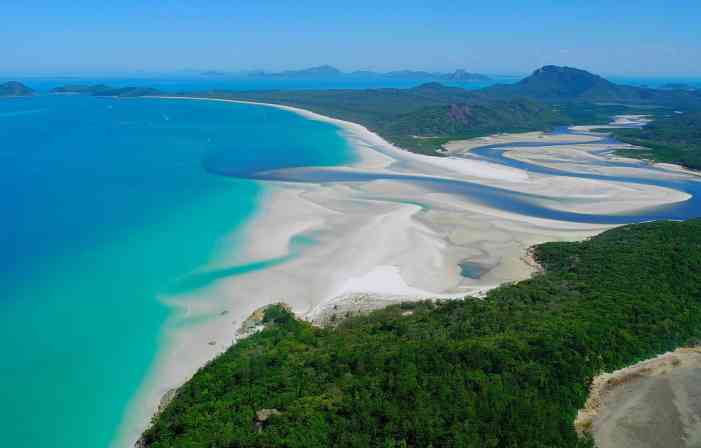 Whitehaven Beach, Whitsunday Island | Most Beautiful Beaches