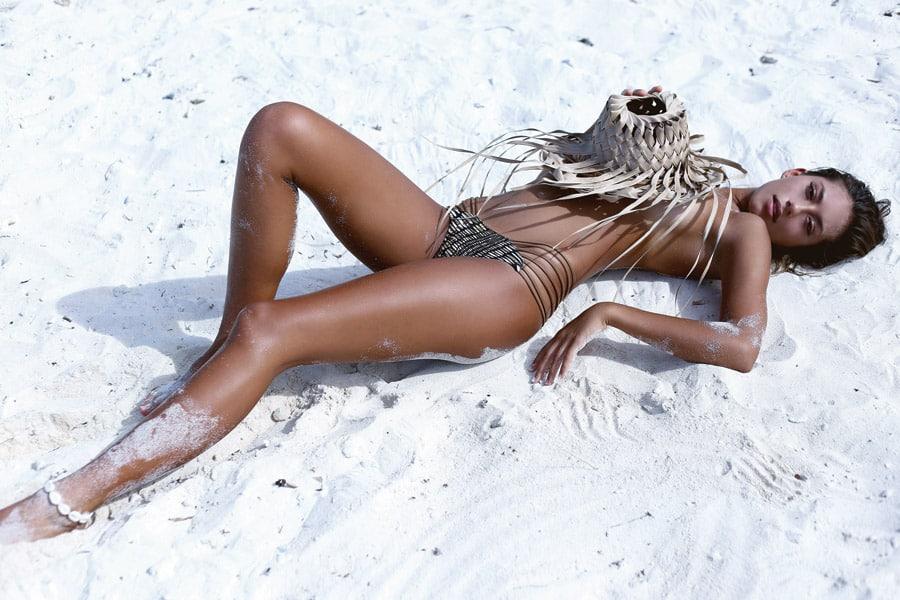 Sexy sporty swimwear | Issa de Mar | Sunset bikini reversible bottoms