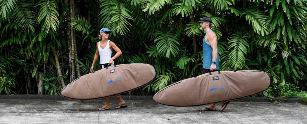 surfboard bag fees / lush palm