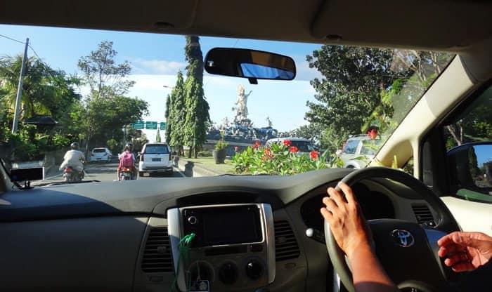 Denpasar International Airport | Driving in Bali