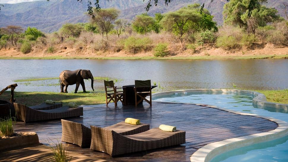 Most Beautiful Pools In The World | Chongwe River House, Zambia