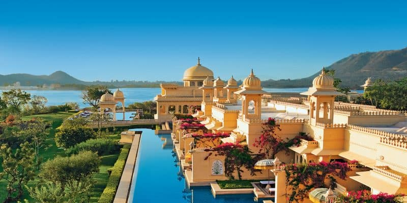 Most Beautiful Pools In The World | Oberoi Udaivilas