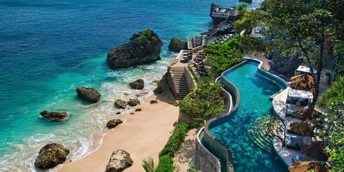 Most Beautiful Pools In The World, Ayana Resort Bali