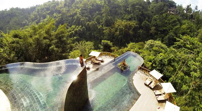 Most Beautiful Pools In The World | Hanging Gardens