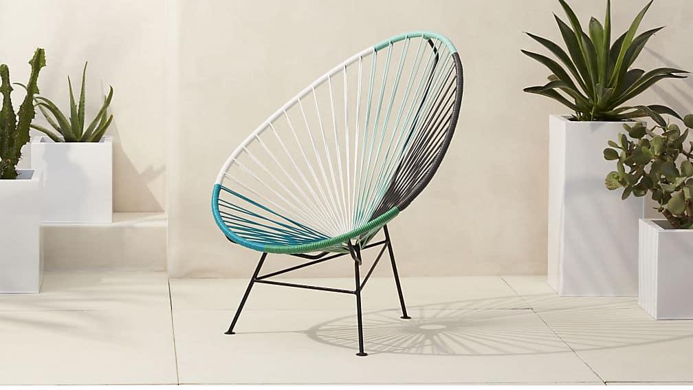 acapulco lounge chair CB2 / beach house style