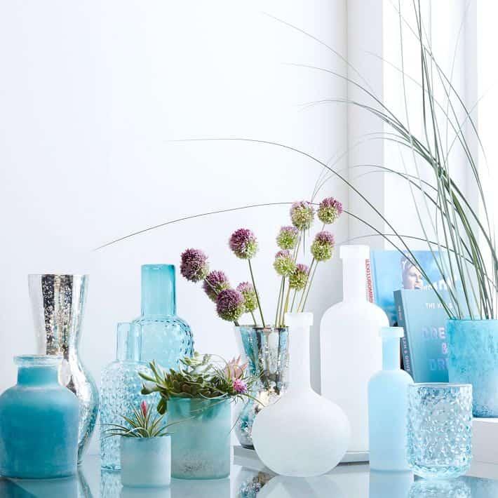 west elm vases / beach house style