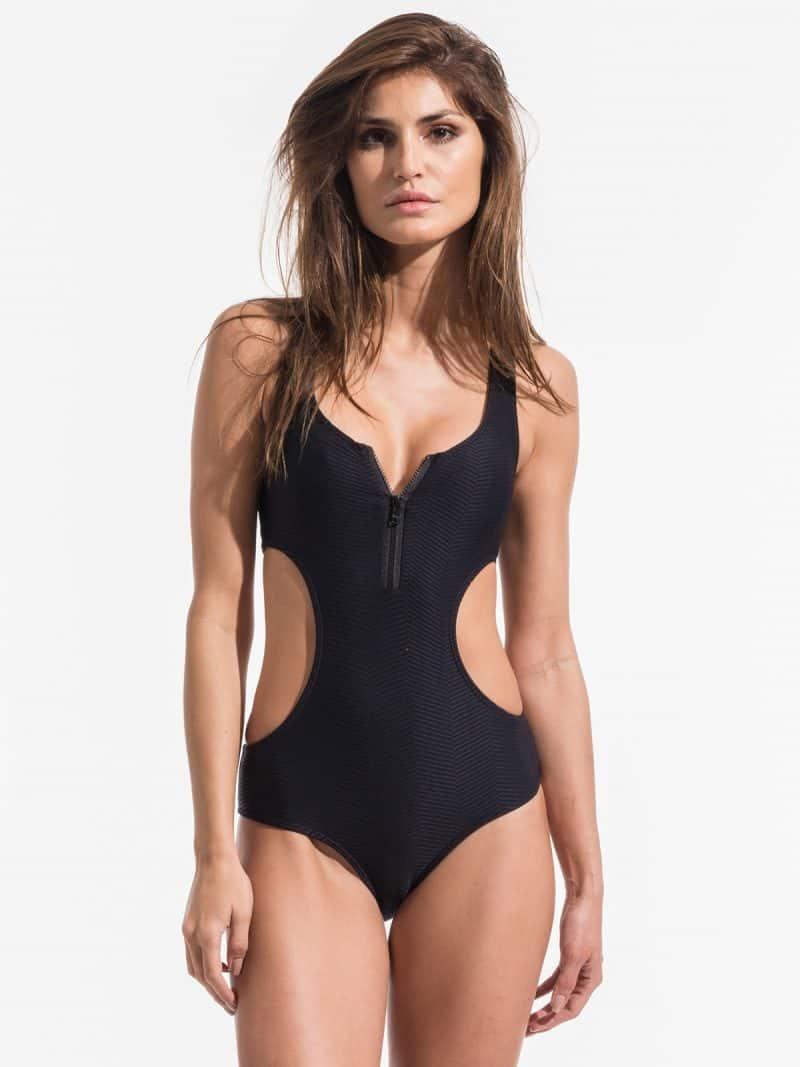 one piece swimsuits / black one piece / triya