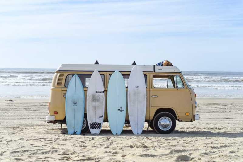 surfboard bag / surfboard quiver