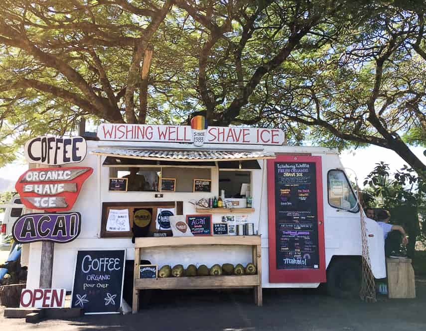 Wishing Well Shave Ice / Guide to Kilauea Kauai with Pro Surfer Leila Hurst