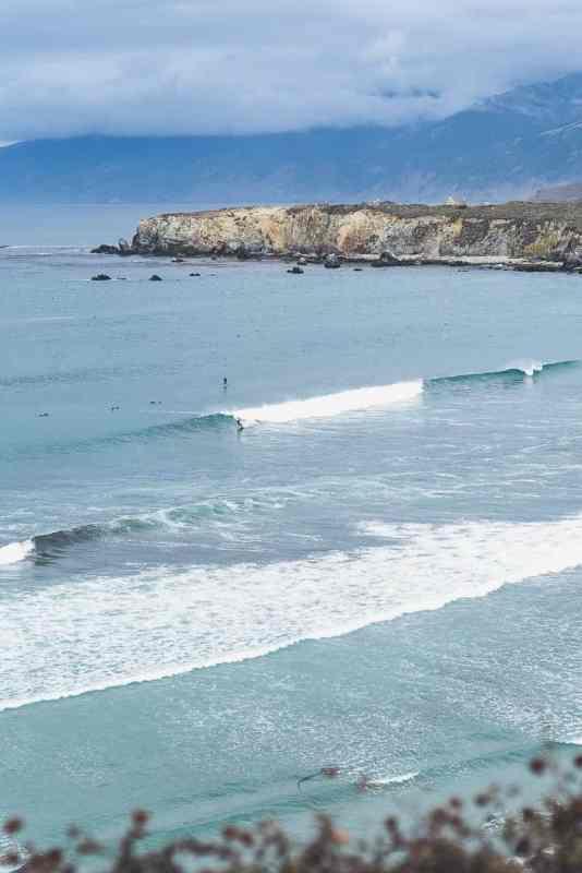 pacific coast highway surf / Big Sur