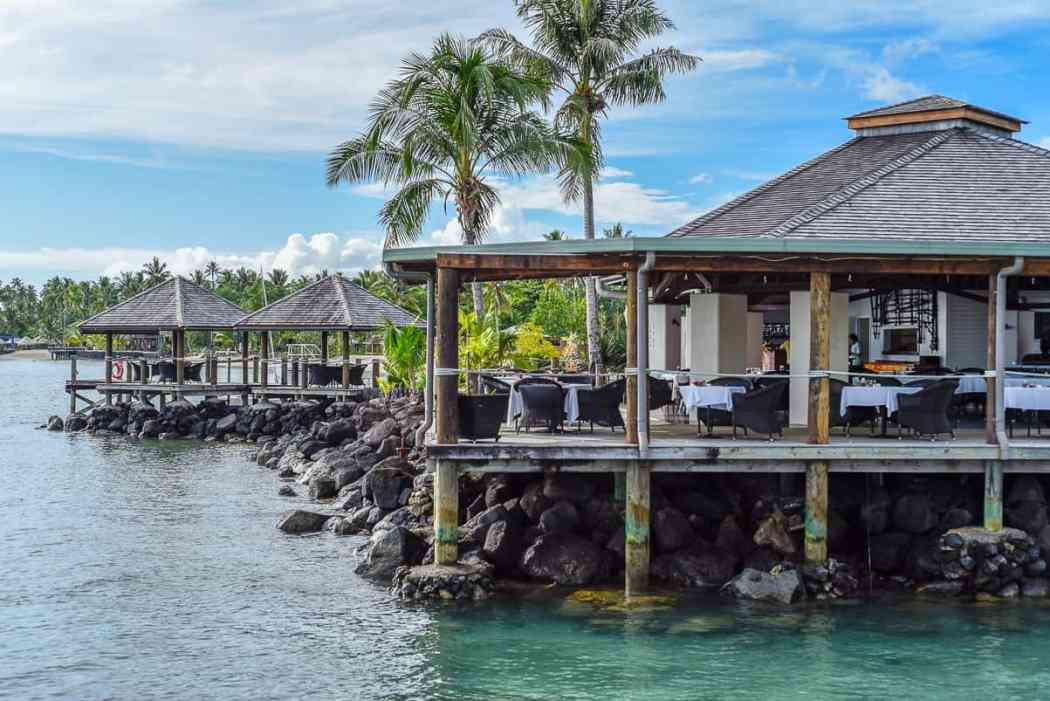 Sinalei Reef Resort & Spa / A Luxury Beachfront Samoa Resort / Restaurant